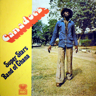 Canadoes - Super Stars Band of Ghana,Rogers All Stars RASLPS010, 1980