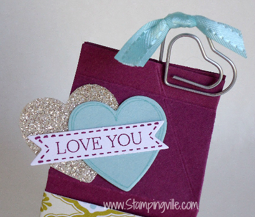 Stampin' Up! Itty Bitty Banners with Bitty Banner Framelits