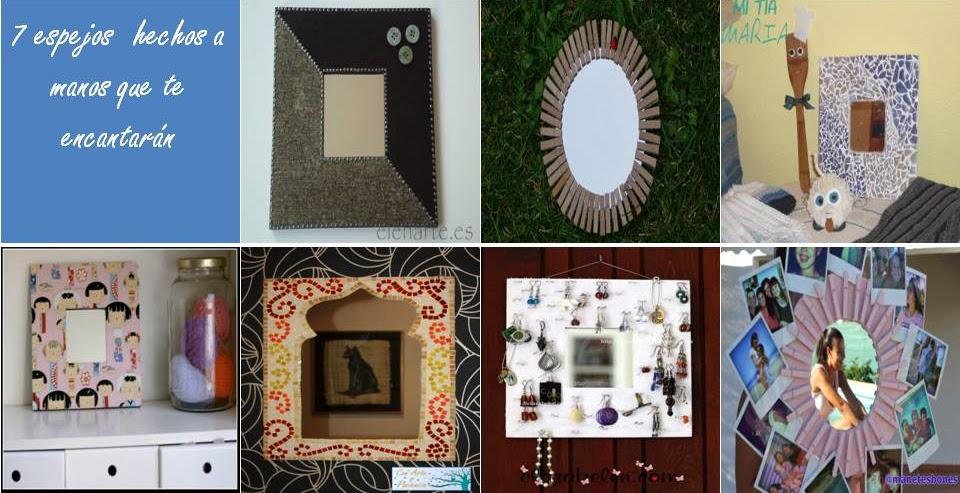 espejos,mano,decoración,pinzas,teselas,mosaicos,tela,pendientes,fotos,madera,broches
