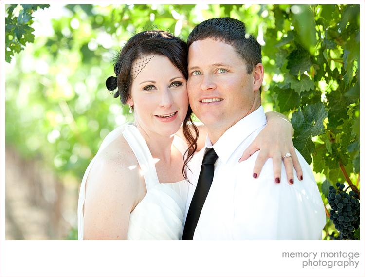 wedding photo cooper winery benton city, wa