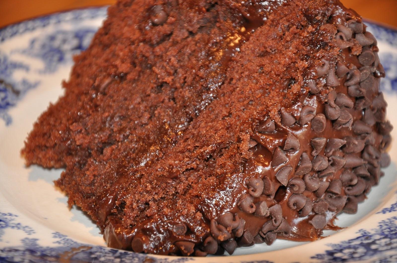 Шоколадный торт на сковороде 41