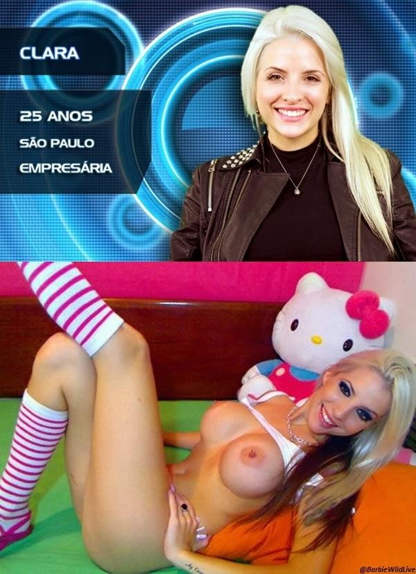 Clara Aguilar - BBB 14                       Com Novas Imagens