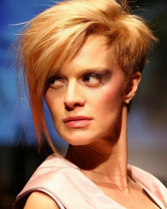 Peinados Asimetricos Mujer - Pelo corto asimétrico Cortes de pelo a la moda y peinados con estilo
