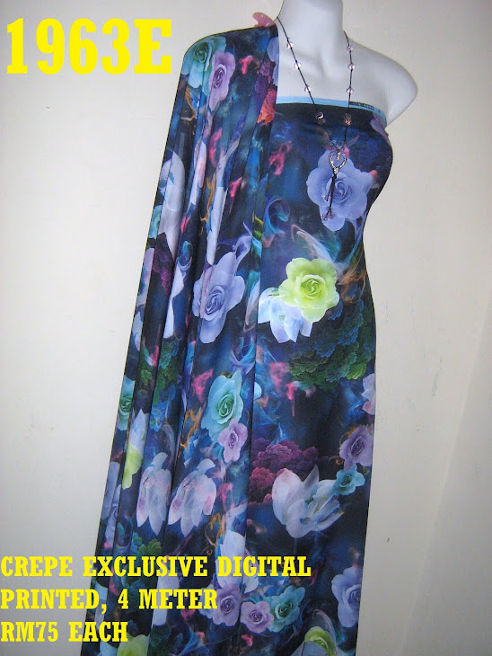 CDP 1963E: CREPE EXCLUSIVE DIGITAL PRINTED, 4 METER