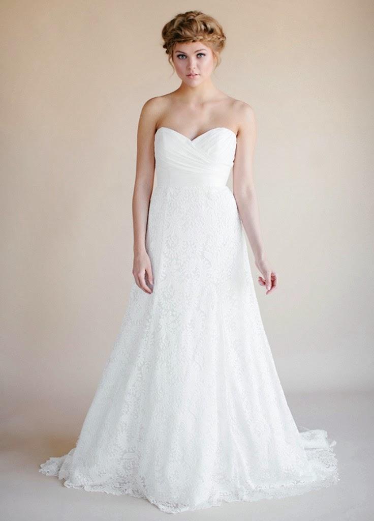 Divinos vestidos de novias   Colección Heidi Elnora