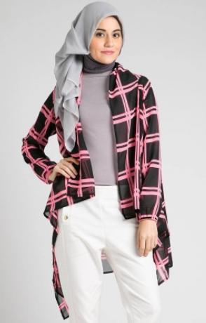 Model%2BBaju%2BMuslim%2BCasual%2BModern beberapa model baju muslim casual terbaru,Model Busana Muslim Casual