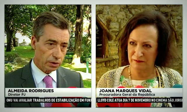National PJ Director Almeida Rodrigues and Attorney General Joana Marques Vidal comment on the Maddie Case  Joana+Marques+Vidal+e+Almeida+Rodrigues