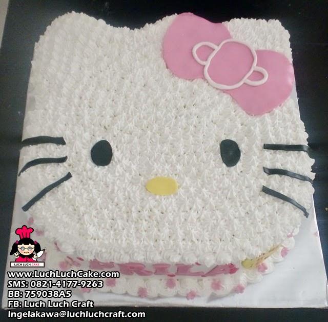 Kue Tart Ulang Tahun Hello Kitty 3D