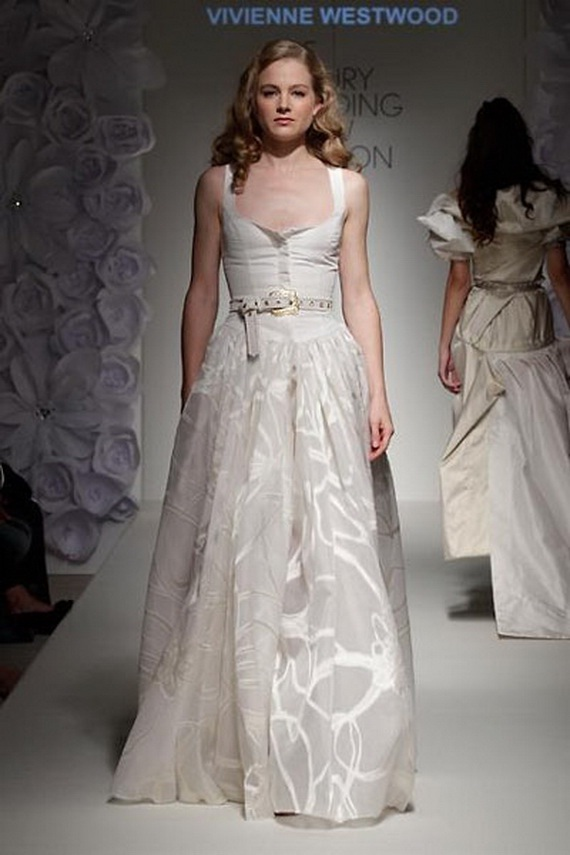 Vivienne Westwood Fall / Winter 2012 Wedding Dresses - World of Bridal