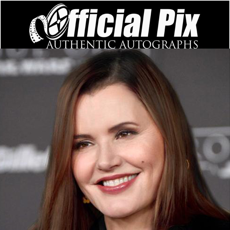 Official Pix signing with Geena Davis! Deadline July 2