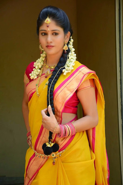 Chandini Chowdary Stills At Kundanapu Bomma Movie First Look Launch