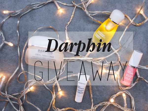 Giveaway: Darphin skincare