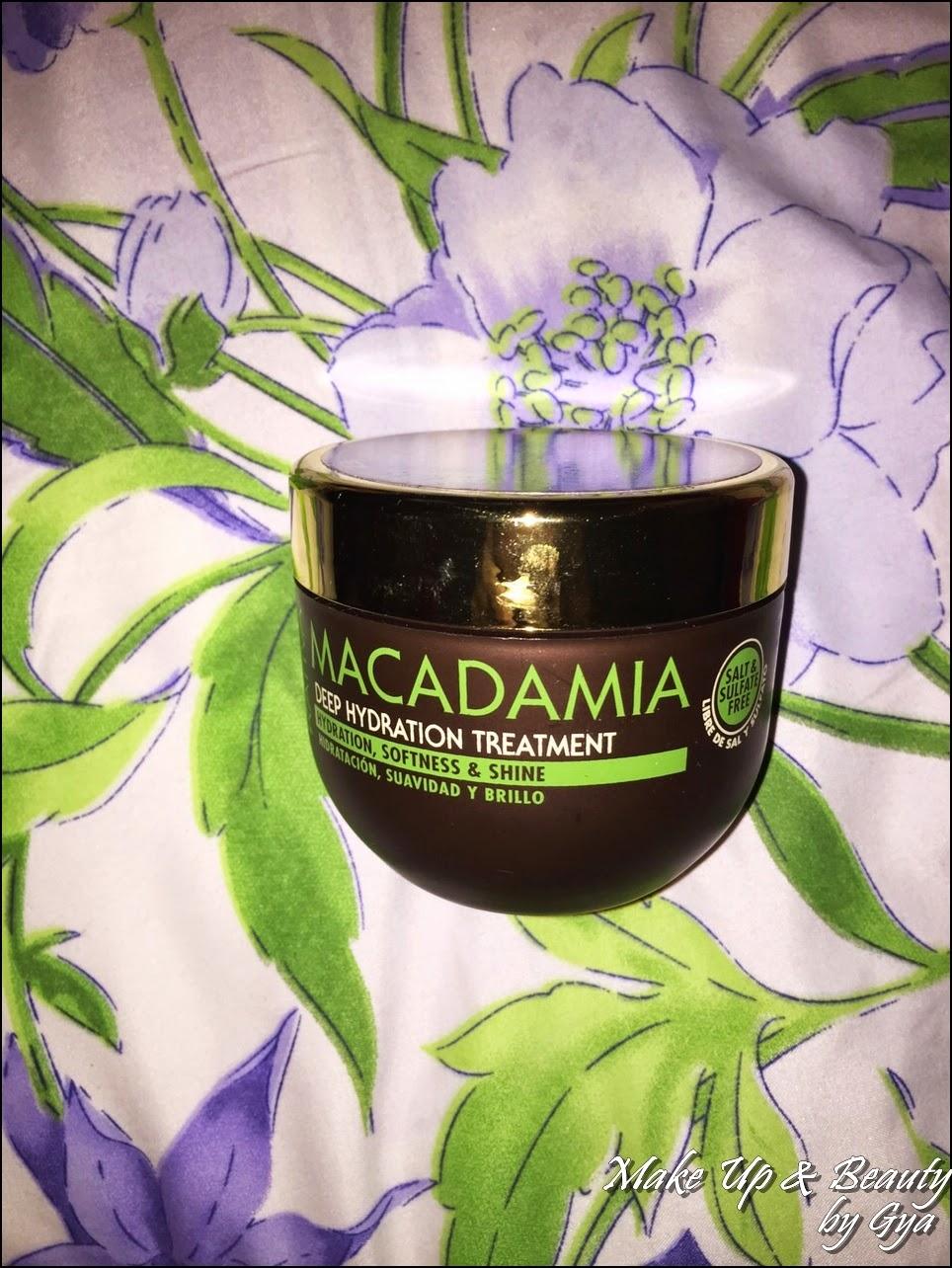 Tratamiento capilar con Macadamia Kativa