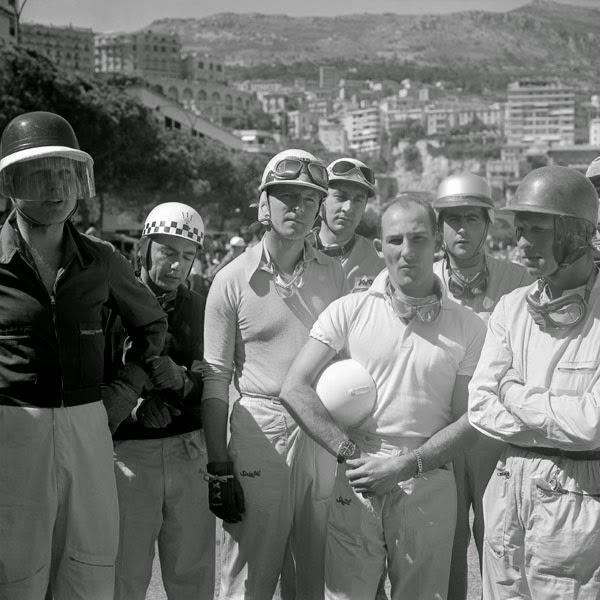 Briefing pilotes - Monaco 1958