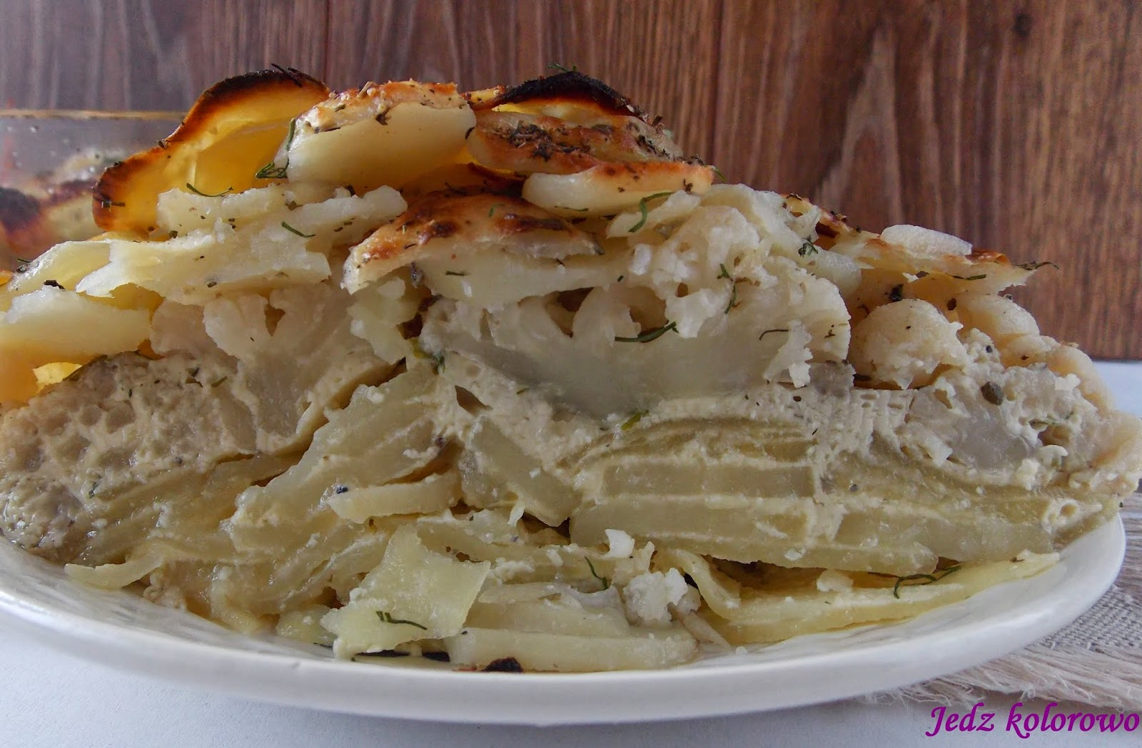 ziemniaki Dauphinoise