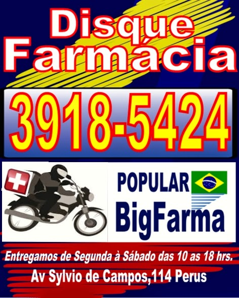 Farmácia entrega em Perus