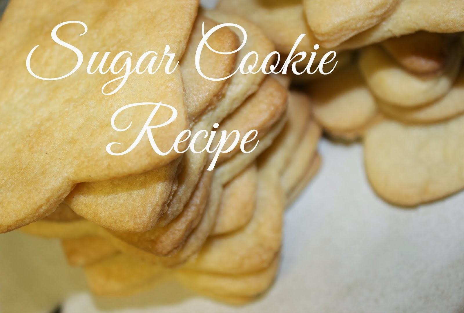 Love and turquoise sugar cookie recipe from scratch
