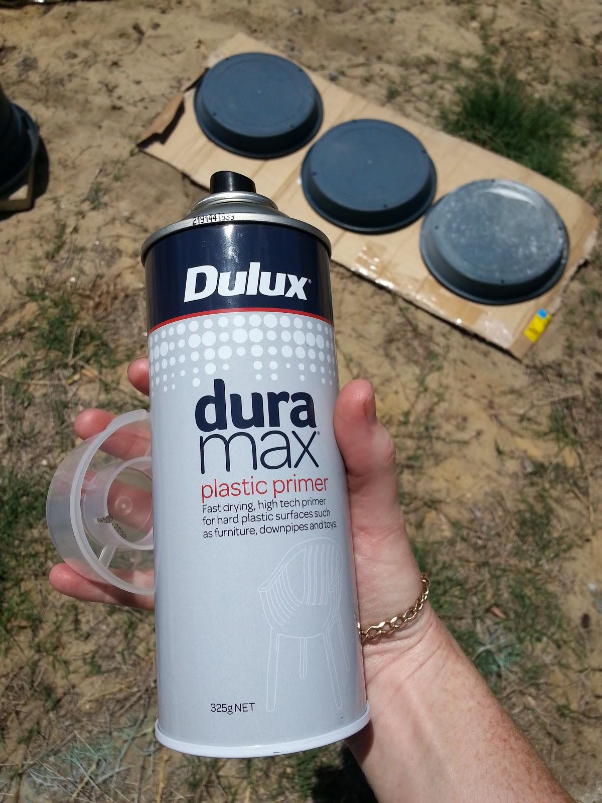 Jarrah Jungle Diy Plastic Pots Spray Paint Granite Look Pots