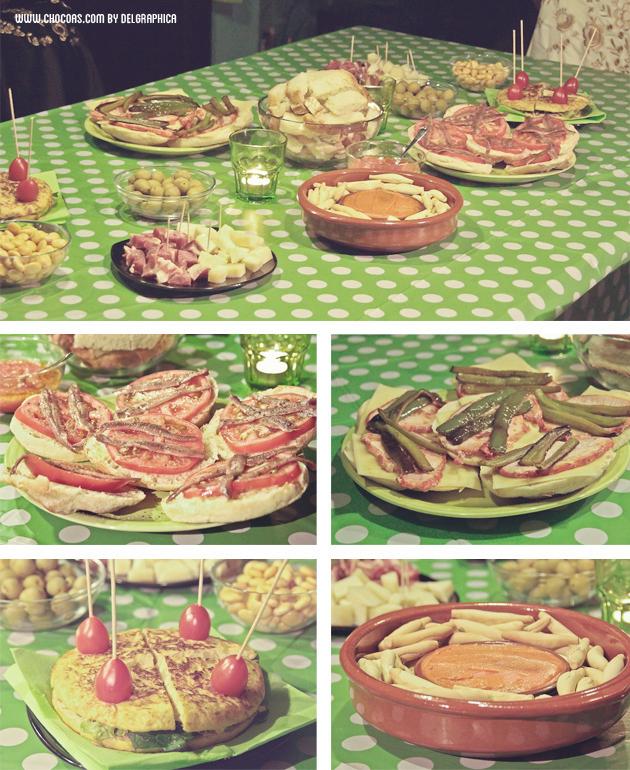 Feria de abril en casa - menú de feria productos andaluces