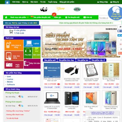 Template bán hàng chuẩn SEO cho Blog