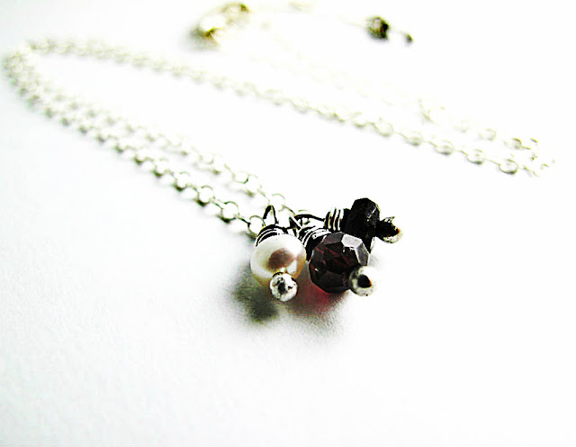 Alchemy of Love Necklace Inspired by Catching Fire by Beth Hemmila of Hint Jewelry