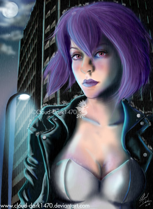 Ghost in the Shell - Motoko por cloud-dark1470
