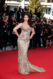 Indian Fashion Style: Sarees versus Gowns | Aishwarya Rai at Cannes Film Festival 2015