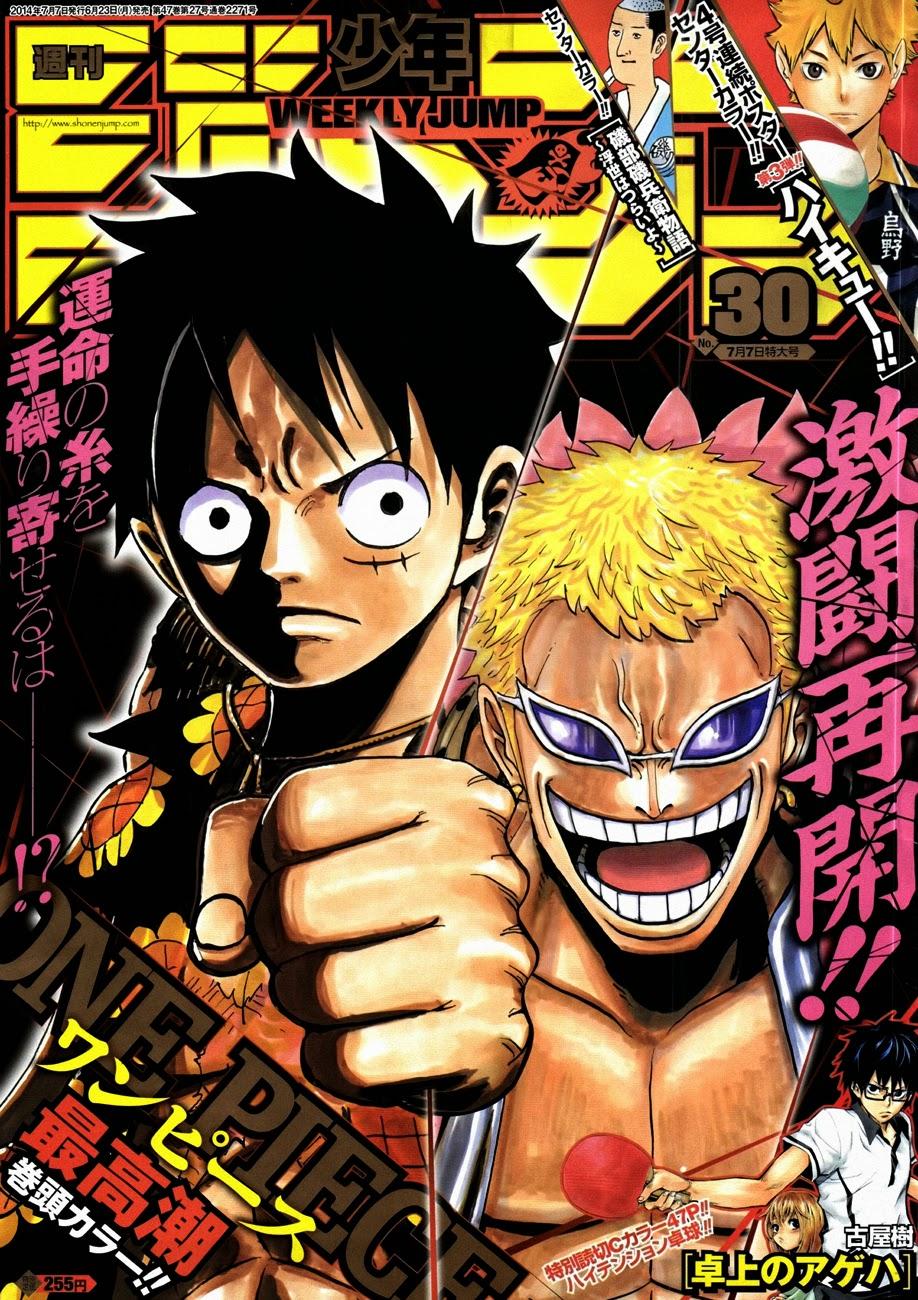 One Piece Chapter 750: Khơi màn cuộc chiến 001