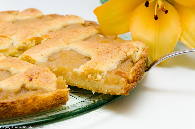 Tarta de manzana de la bisabuela Tanta