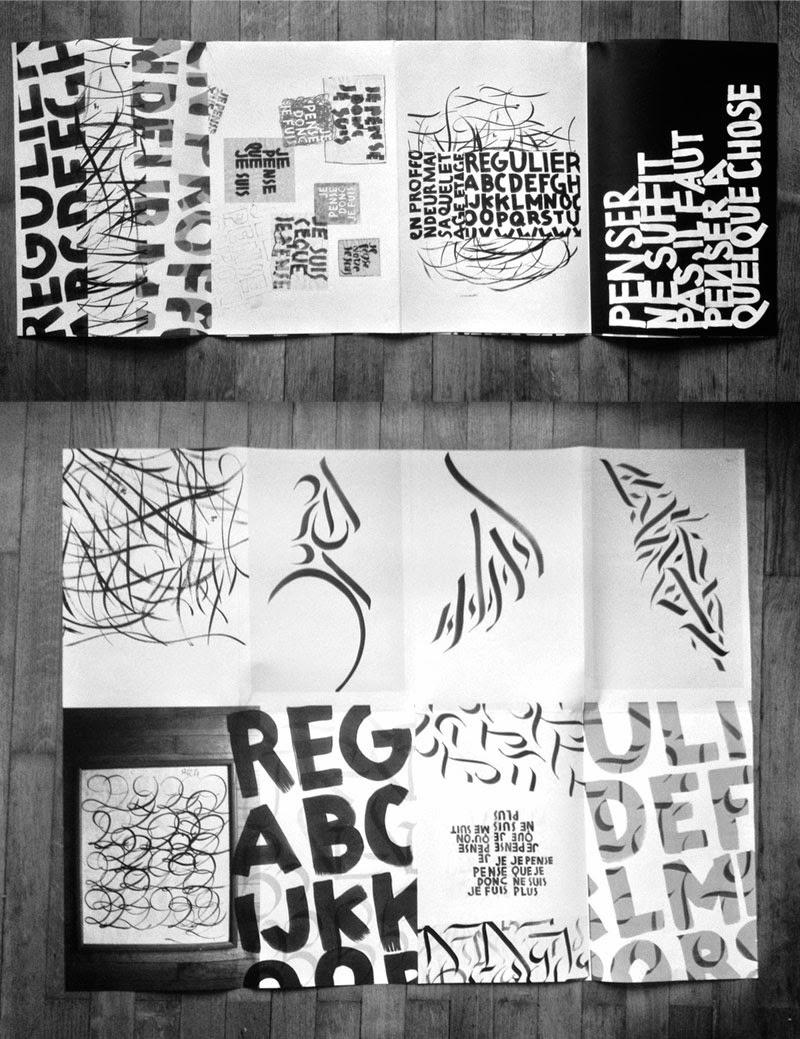 poster / cahier de recherche