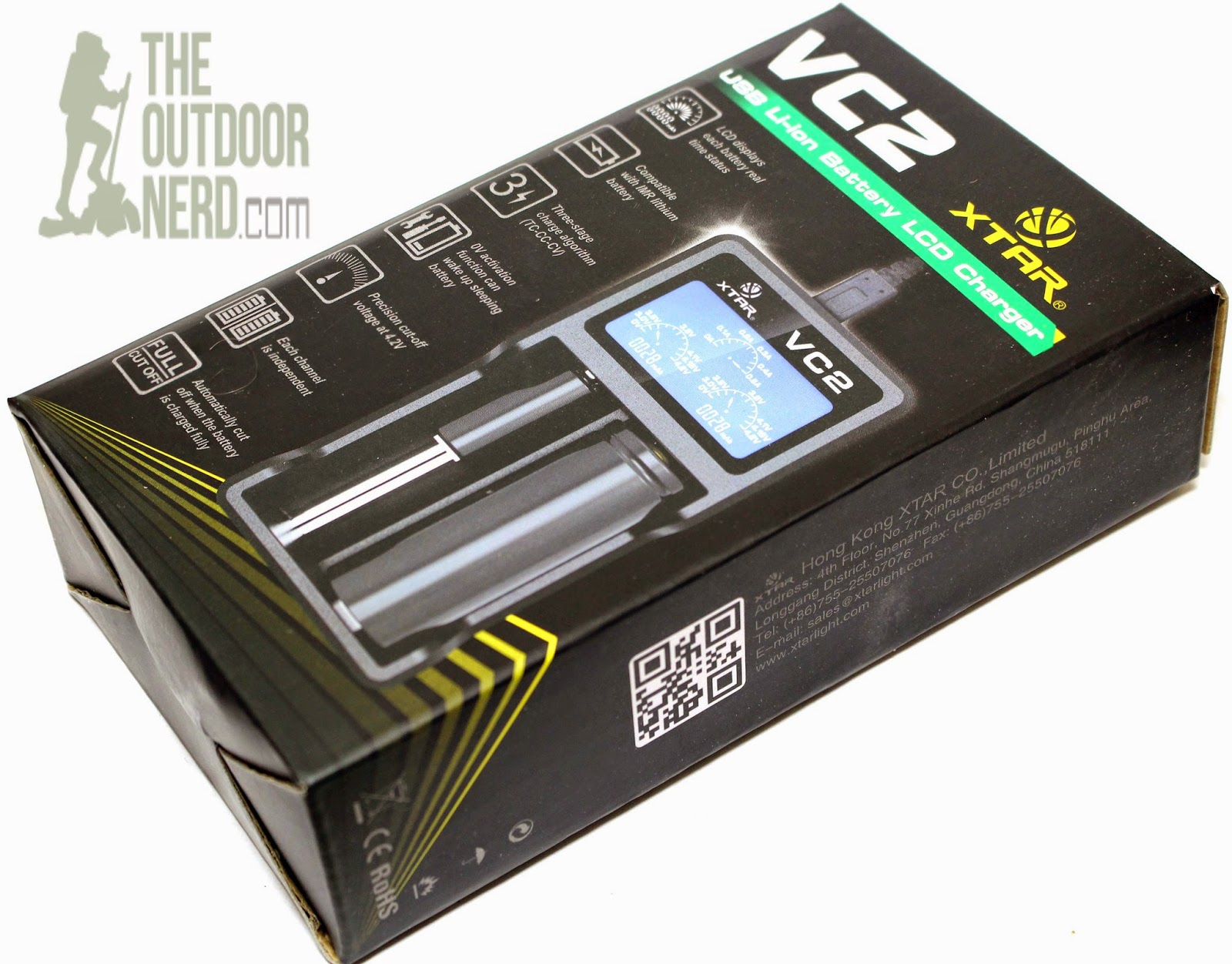 XTAR VC2 Lithium-Ion USB Charger - Box 1