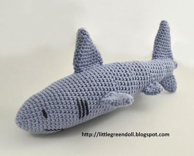 Tiburón Amigurumi Shark