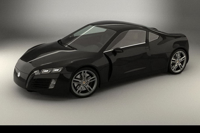 Volkswagen Concept Sport Car By Steel Drake Auto Magazine - Simple sports car
