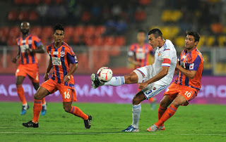 Hero Indian Super League 2015 Results