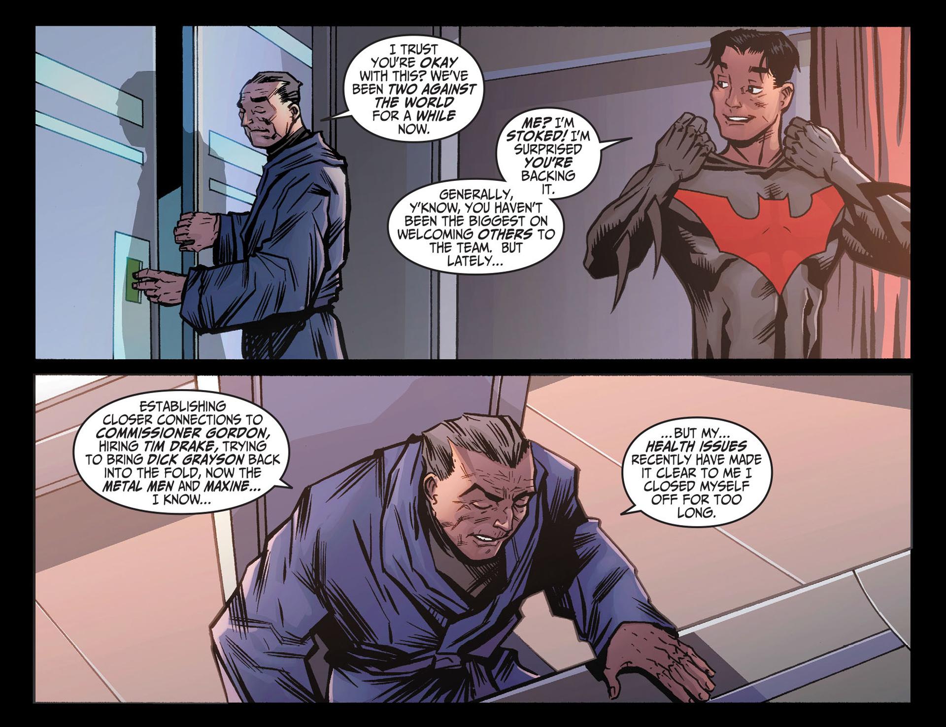 Batman Beyond (2012) Issue #26 #26 - English 19