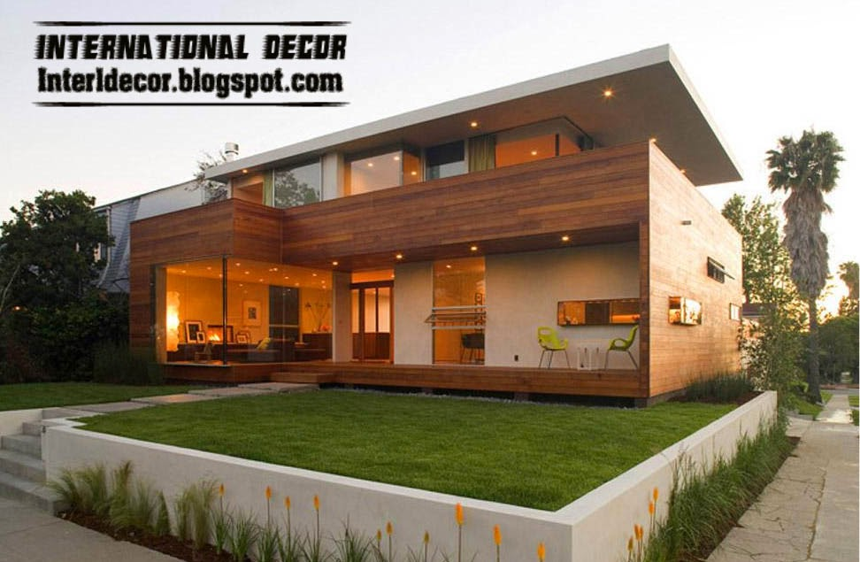 Eco friendly and modern homes for Green homes designs