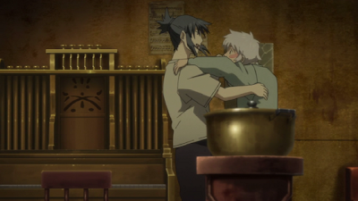 no.6, no. 6, no 6, episode 5, nezumi, shion, dancing, couple