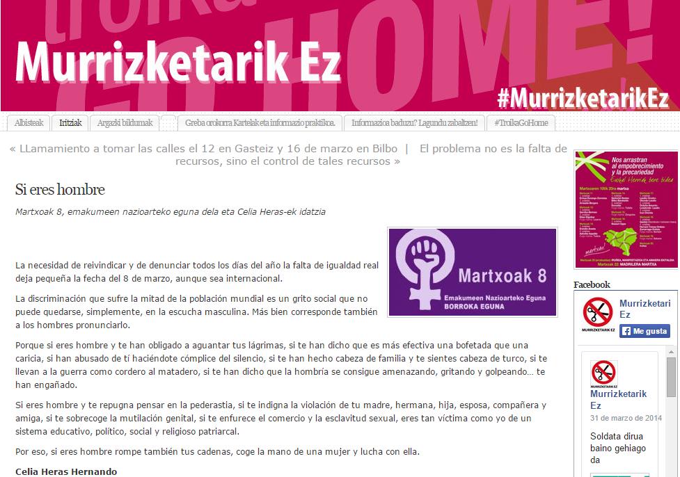 Imagen del artículo de Celia Heras en #MurrizketarikEz