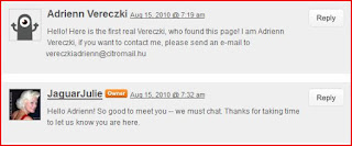 Vereczki Reader Comments