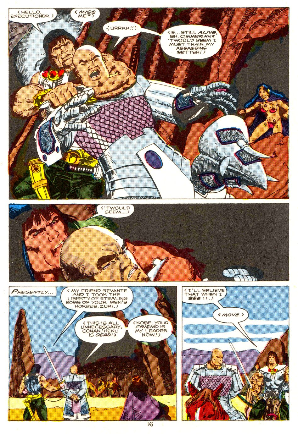 Conan the Barbarian (1970) Issue #207 #219 - English 13