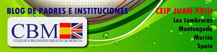 """Colegio Bilingüe de Murcia  """"JUAN XXIII"""""""