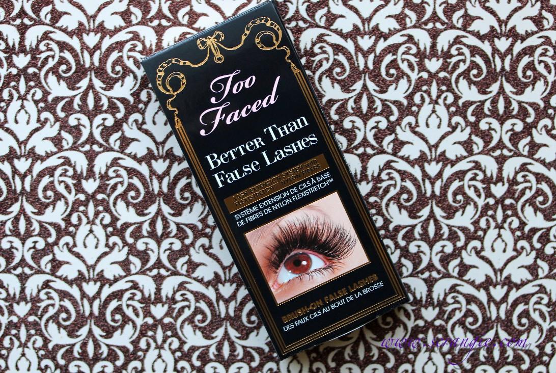 Scrangie: Too Faced Better Than False Lashes Nylon Lash Extension ...