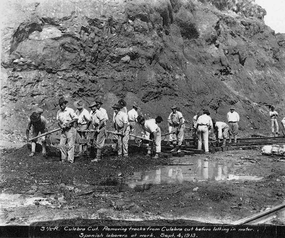 Старые фотографии: Панамский канал
