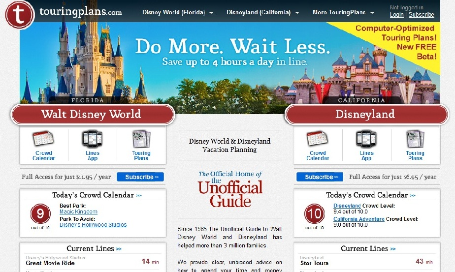 Touring Plans Disneyworld Cabins