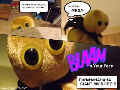 Giant Microbes Super Bug MRSA