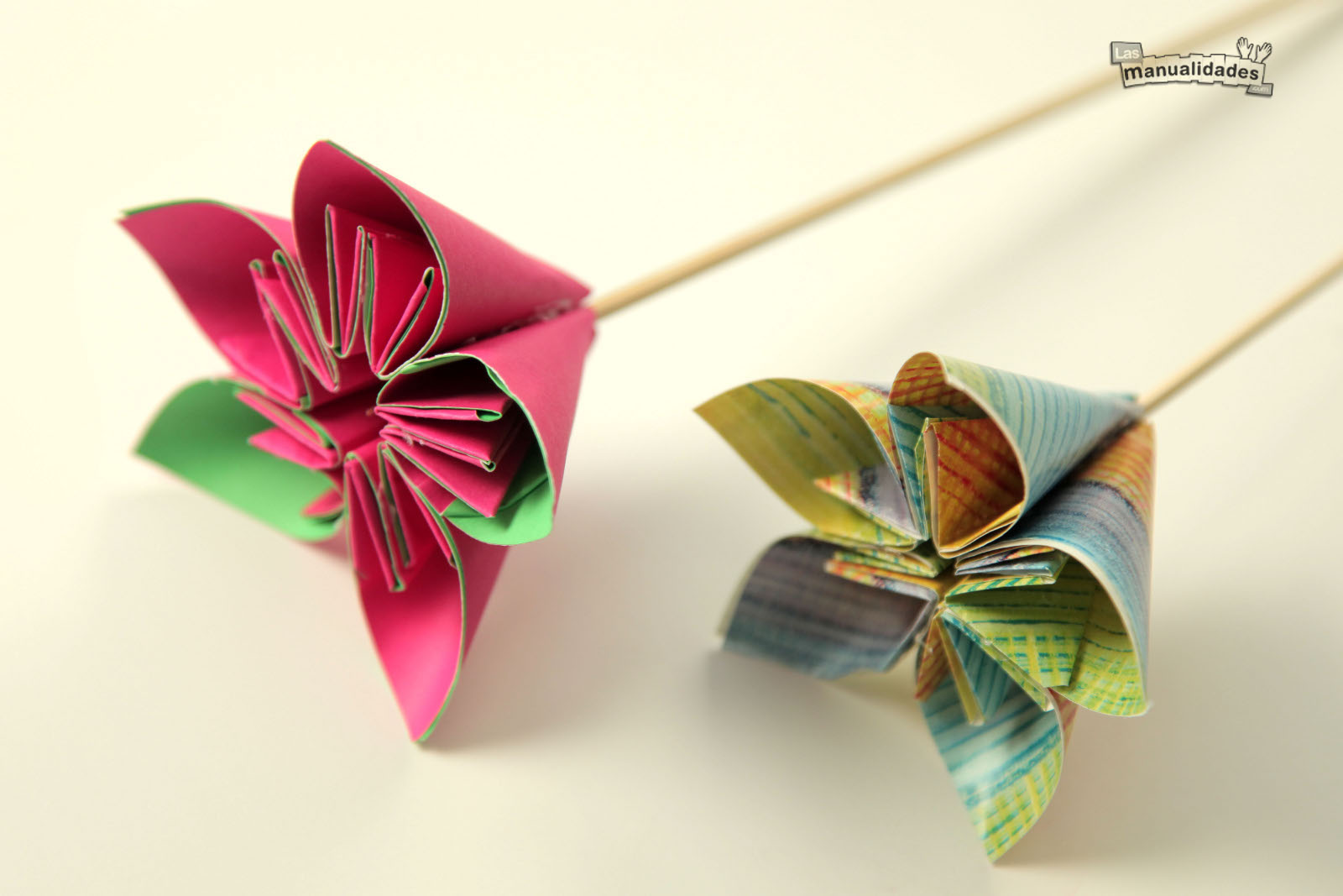 Las matematicas aplicadas a la resolucion de problemas - Como hacer rosas de papel ...