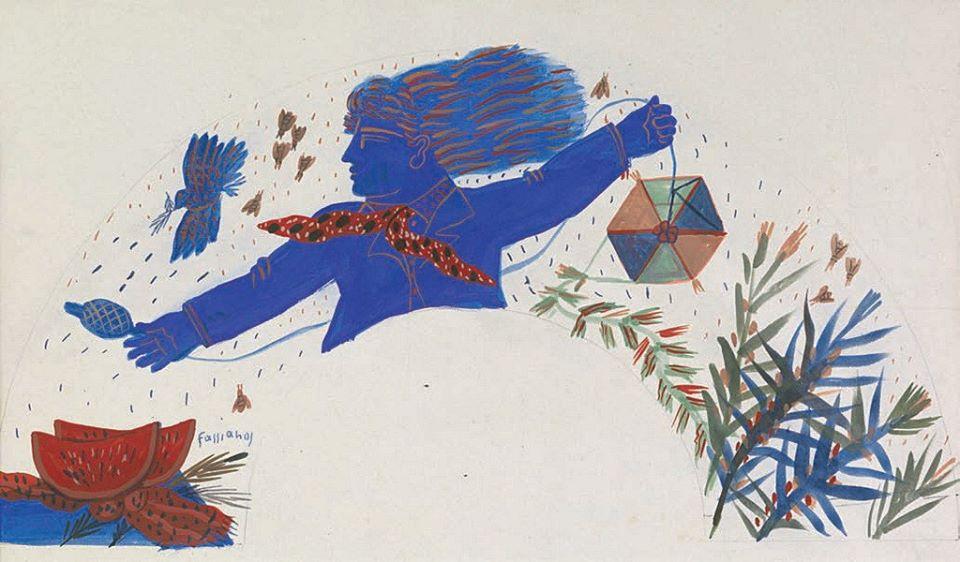 Ο χαρταετός στην Τέχνη.... Αλέκος Φασιανός