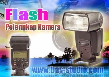 Flash Eksternal Pelengkap Kamera DSLR
