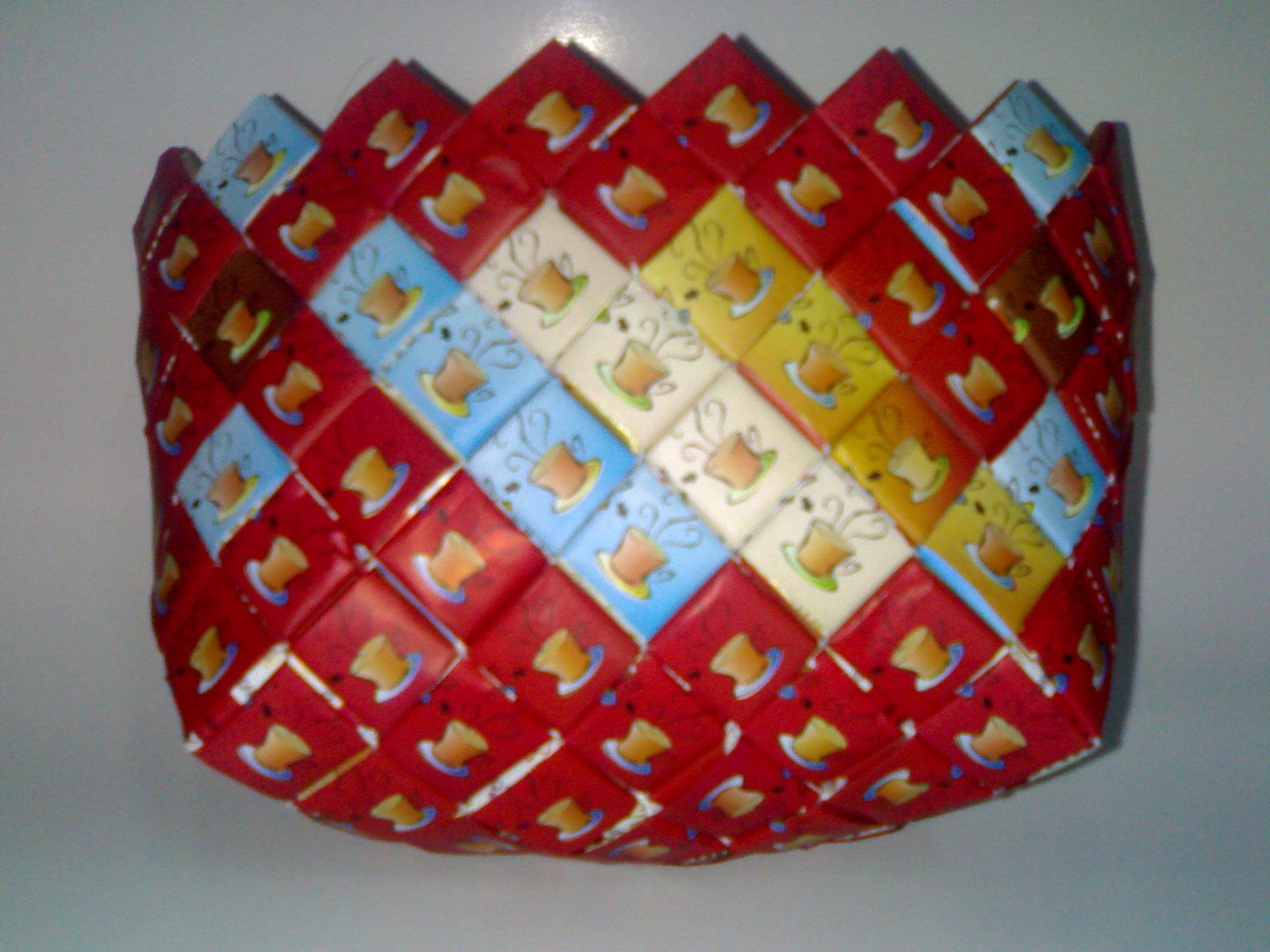 cara kreatif membuat tas daur ulang bisa dengan menggunakan bungkus
