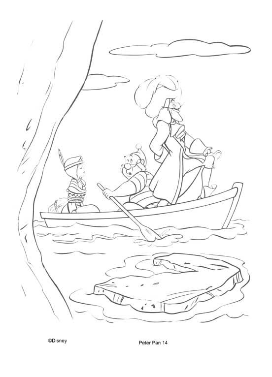Desenhos Para Colorir capitão gancho